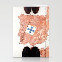 feet Stationery Cards featuring Feet by Little Miss Joey