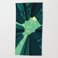 Solitary Dream Beach Towel