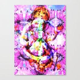 GANESH PEACE Canvas Print