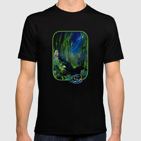 Silent Night in the New Zealand Forest T-shirt