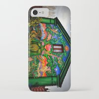 hippy iPhone & iPod Cases featuring house hippy by  Agostino Lo Coco