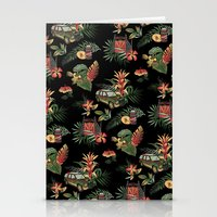 jurassic park Stationery Cards featuring Classic Jurassic by Josh Ln