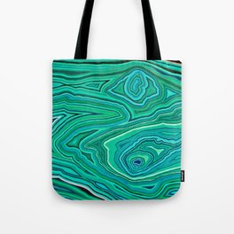 After Malachite Tote Bag