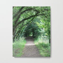 New Forest Tunnel Metal Print