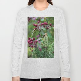 Apple tree and pinewood Long Sleeve T-shirt