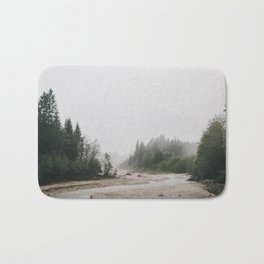 Riverside landscape photography Bath Mat