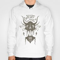 crowley Hoodies featuring Do What Thou Wilt - Aleister Crowley by Sten backman