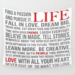 All about life Wall Tapestry