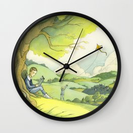 Tolkien In The Birmingham Hills Wall Clock
