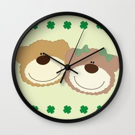 WE♥BEARS Wall Clock