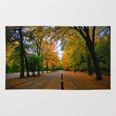 Fall road Rug