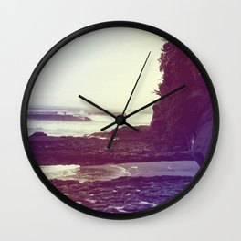 surf in color Wall Clock