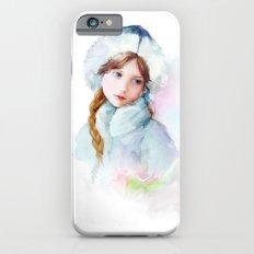 Snow girl iPhone 6s Slim Case