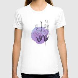 lisianthus T-shirt