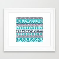 tribal Framed Art Prints featuring Tribal by Julscela