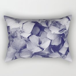 Hydrangeas in pencil Rectangular Pillow