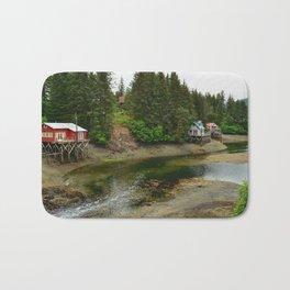 Seldovia Slough - Alaska Bath Mat