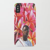 gucci iPhone & iPod Cases featuring gucci mane floral by cree8