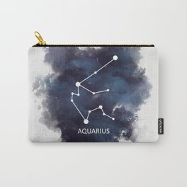 Aquarius Galaxy Constellation Carry-All Pouch