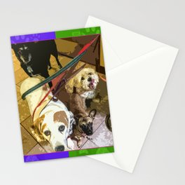Roz, Buster, Peppy and Jamie Stationery Cards