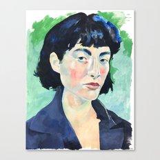 Profile in Acrylic Canvas Print