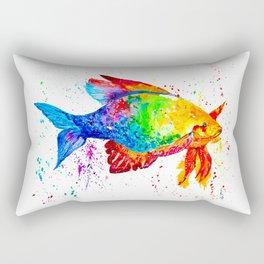 Bright fish Rectangular Pillow