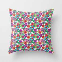Swirly Throw Pillow