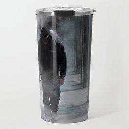 Man In The Mist Travel Mug