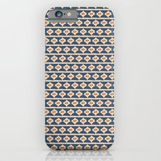 Aztek floral blue 2 iPhone 6s Slim Case