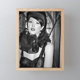 5251 Foxy Lady Framed Mini Art Print