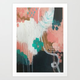 Impossible Abstraction Art Print