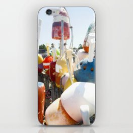buoys photography iPhone Skin