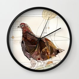 Infamous Grouse Wall Clock