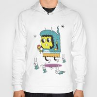 bunnies Hoodies featuring The Birds and the Bunnies  by Frenemy