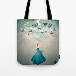 Leaving Wonderland Tote Bag