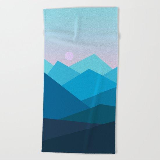 Landscape NC 01 Beach Towel