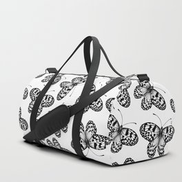 Paper kite butterfly pattern Duffle Bag