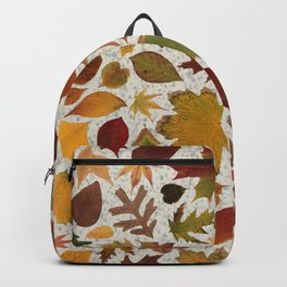 Autumn Leaves Speckle Backpack