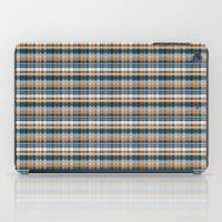plaid iPad Cases featuring Plaid by Livia Rett