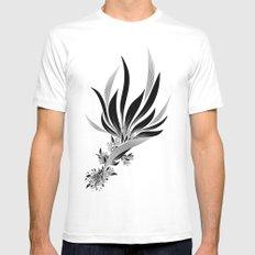 Bird of Paradise MEDIUM Mens Fitted Tee White