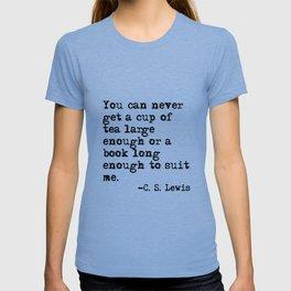 Tea and books T-shirt