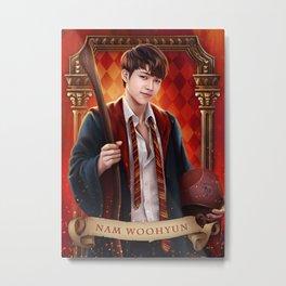 Gryffindor Woohyun Metal Print