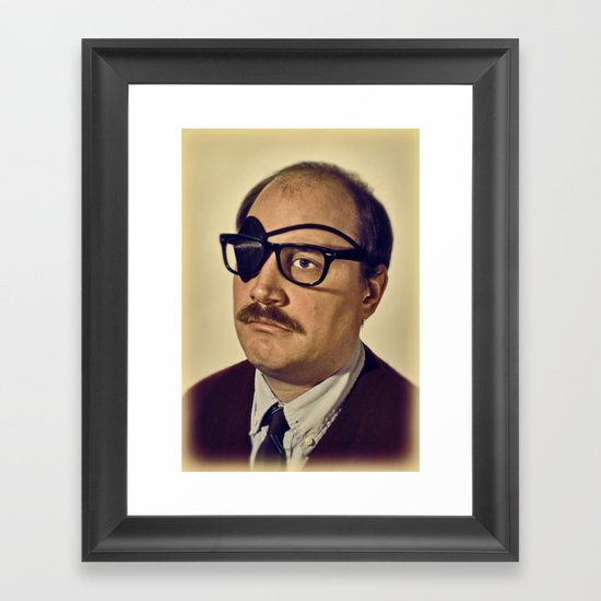 i.am.nerd. :: davey II Framed Art Print