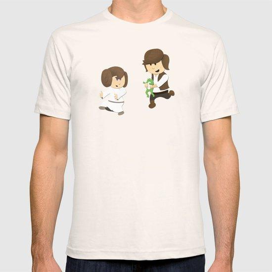 SW Kids - Han Chasing Leia T-shirt