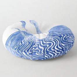 Water Nymph LXIII Floor Pillow