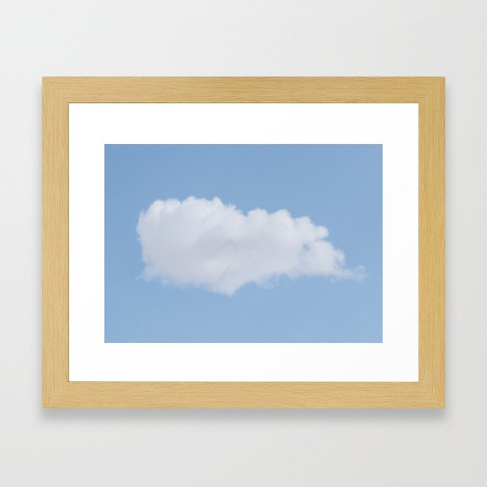 Cloud #1 Framed Art Print