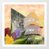 Wall House Art Print
