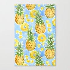 Pineapple Summer Canvas Print