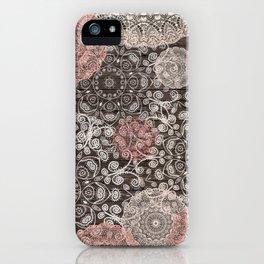 HAPPY GO LUCKY - BOHO WOOD iPhone Case