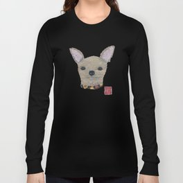 Chihuahua, Dog, Tan Chihuahua Long Sleeve T-shirt